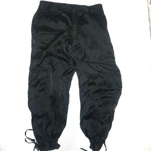 Mossimo Imported Silk Capris. Hi-Waisted.  Size 8